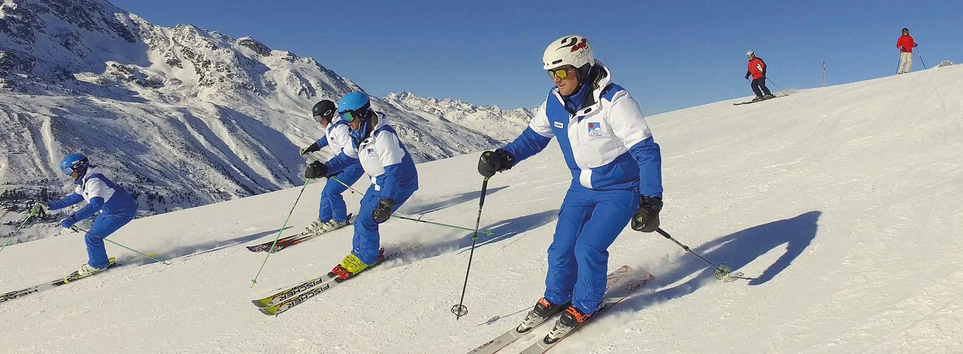 Schischule Hochgurgl Skigebiet Obergurgl Hochgurgl Tirol Ötztal