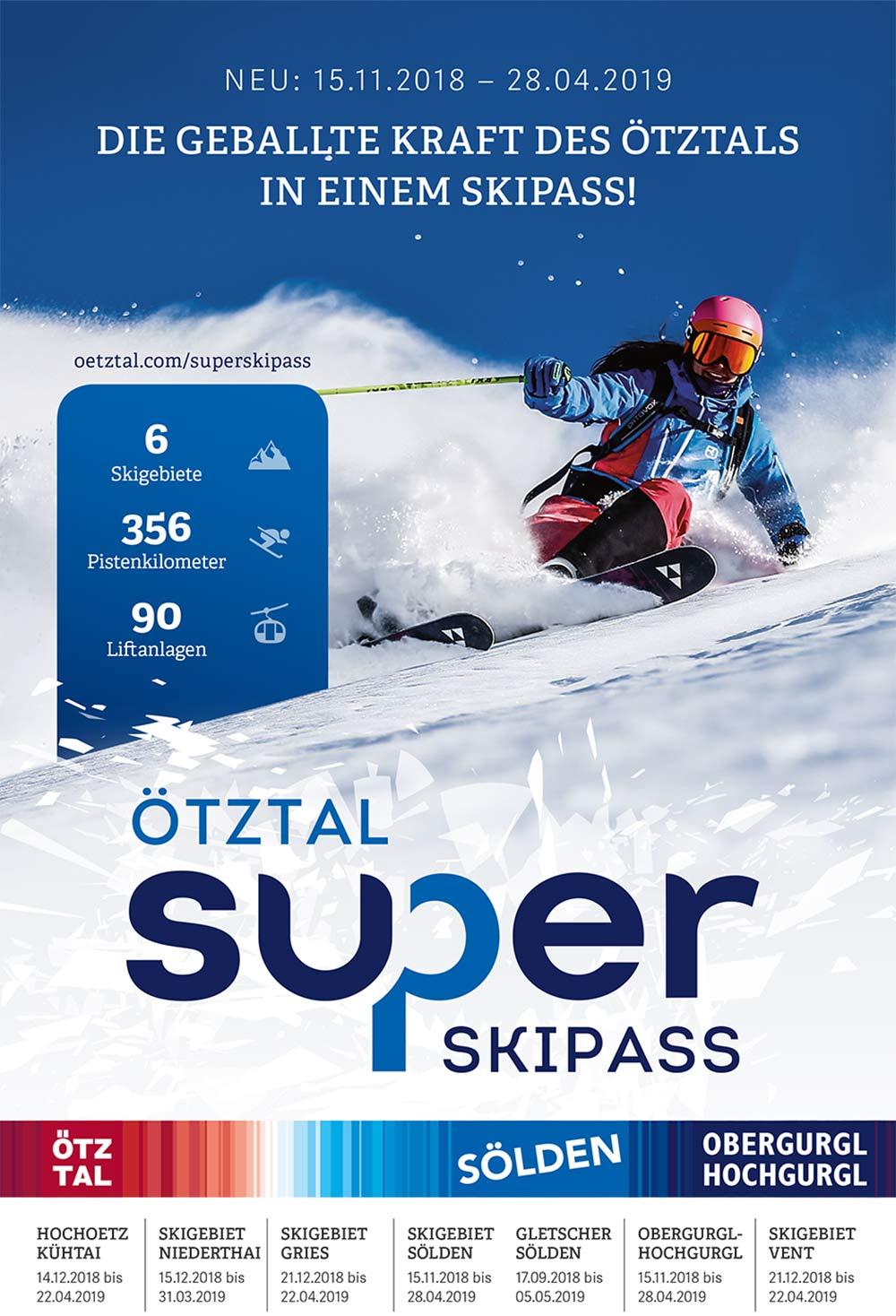 6 Skigebiete, 346 Pistenkilometer und 89 Liftanlagen