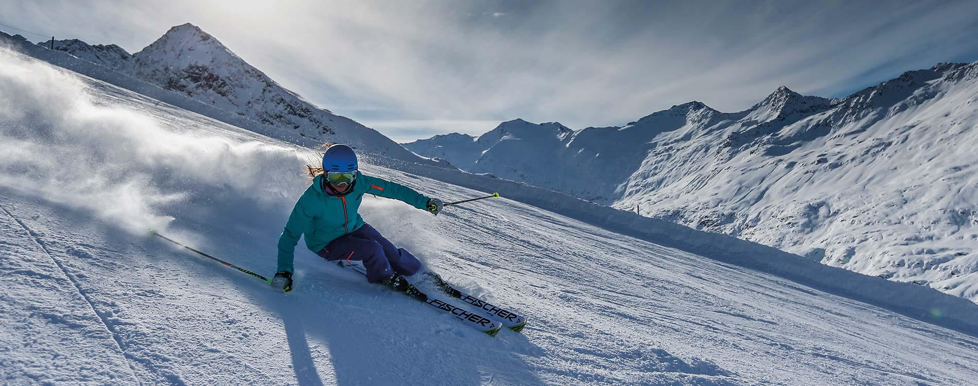 Skifahren in Hochgurgl - TOP Skigebiet von November bis Mai